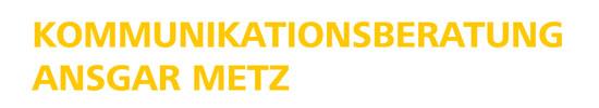 Kommunikationsberatung Ansgar Metz – Kommunikationsagentur Köln Logo